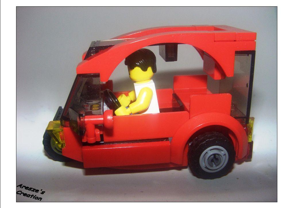 aresze moc - 3 wheels car 002