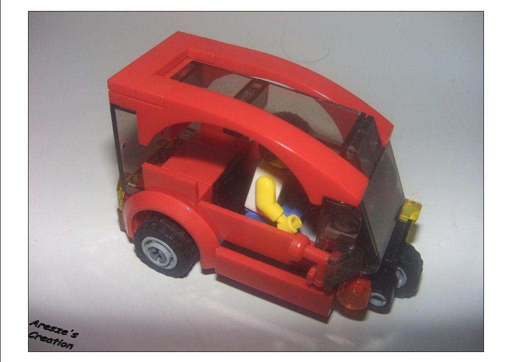 Aresze Moc 3 Wheels Car Lego Town Eurobricks Forums