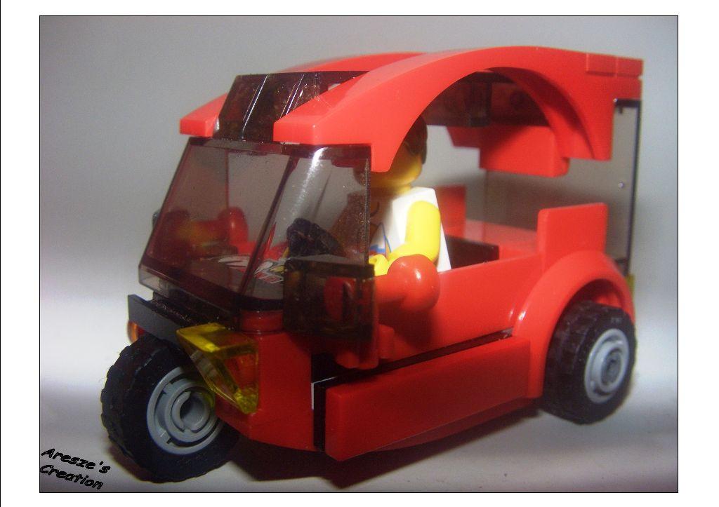 aresze moc - 3 wheels car 007