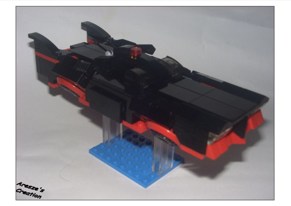 aresze moc - The flying batmobile 007