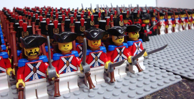 Red Coat Army (577 and counting) - Pirate MOCs - Eurobricks Forums