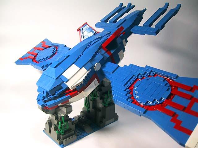 Best lego kyogre ever the pokegym - Lego pokemon rayquaza ...