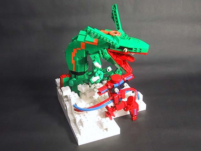 L go pok mon - Lego pokemon rayquaza ...