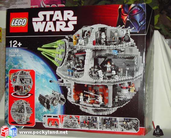 2008 星戰系列 10188 Death Star  死星 (小B版本,共100張圖片)