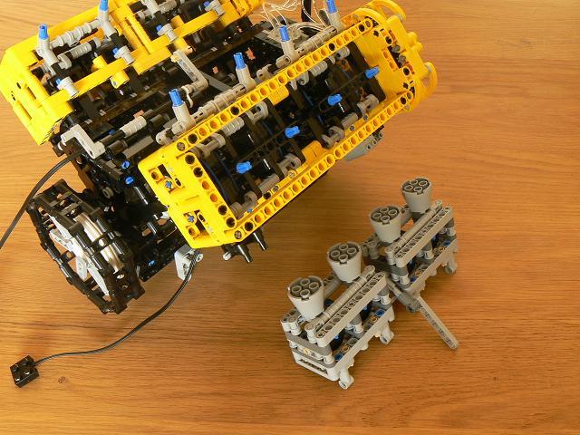 Как сделать лего мотор для 357