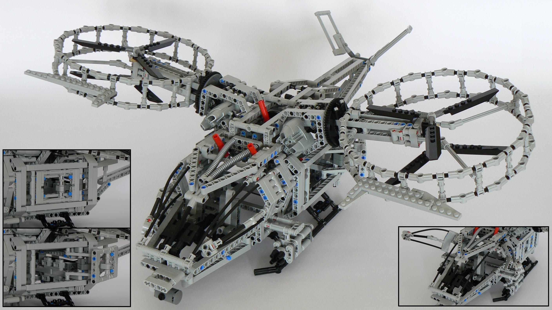 Lego Technic Rda Samson Battle Helicopter From Avatar