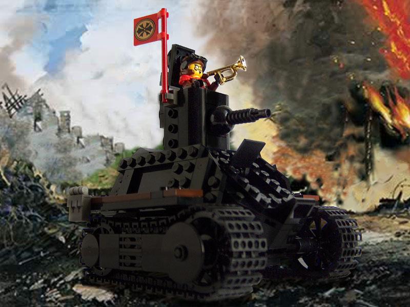 BaronSat's World War I Tank