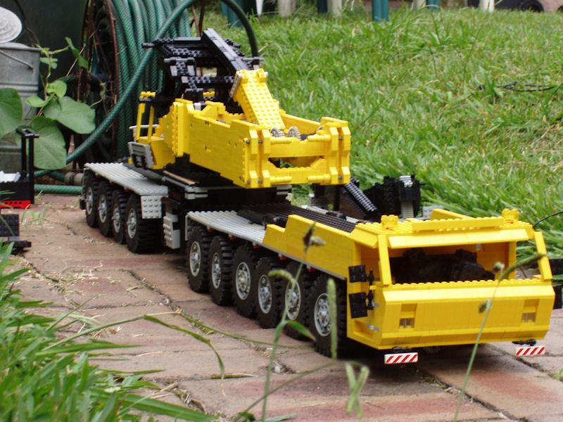 Lego Crane Truck Lego Crane