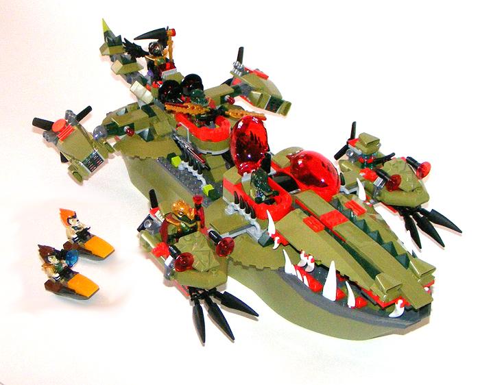 лего чима корабль крокодилов инструкция