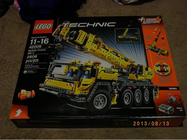 P園第1!!!42009 technic 移動式吊車 MK II Mobile Crane MK II