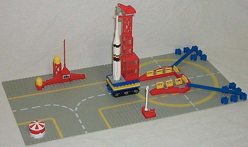 Lego City Rocket Ship Instructions