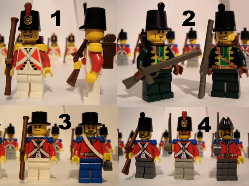 Napoleonic Wars Troops - Pirate MOCs - Eurobricks Forums