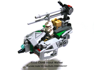 7250 Clone Scout Walker Alternate Model 02 A Lego Creation By