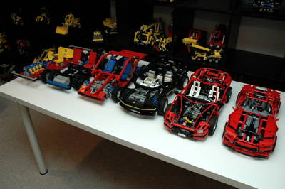 super car complete Lego 8070