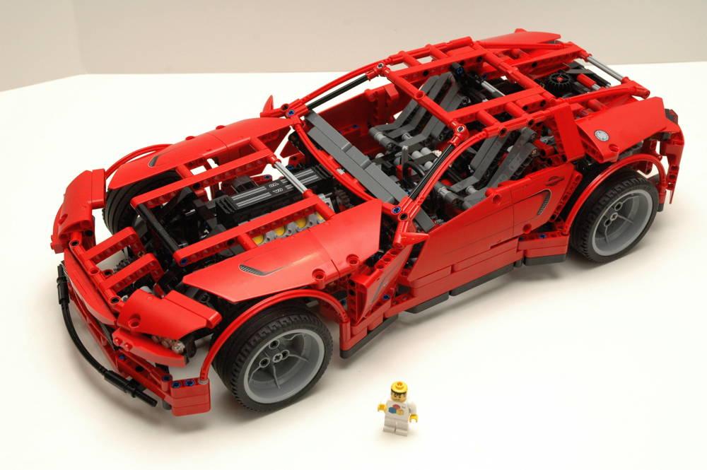 review 8070 supercar lego technic mindstorms model. Black Bedroom Furniture Sets. Home Design Ideas