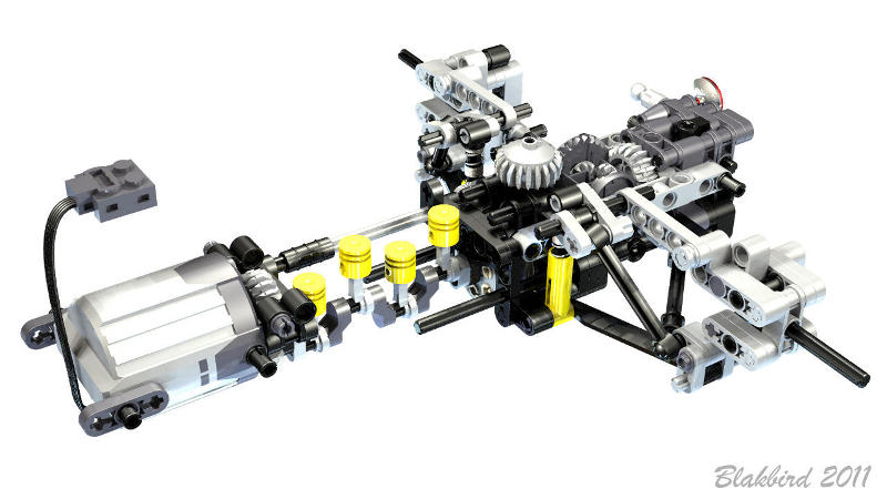 Roscopcs Lego Technic Racecar Stable Page 2 Lego Scale Modeling