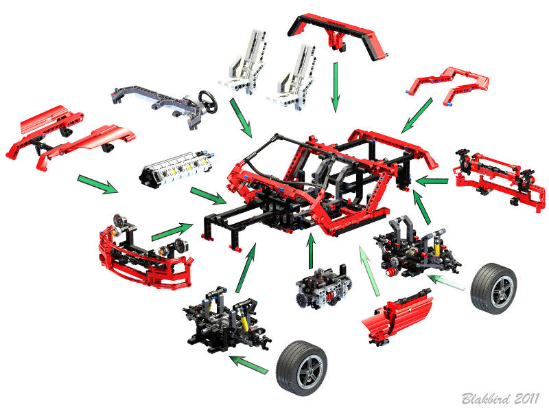 Nathanaël Kuipers\'s Concept Car - Page 4 - LEGO Technic, Mindstorms ...