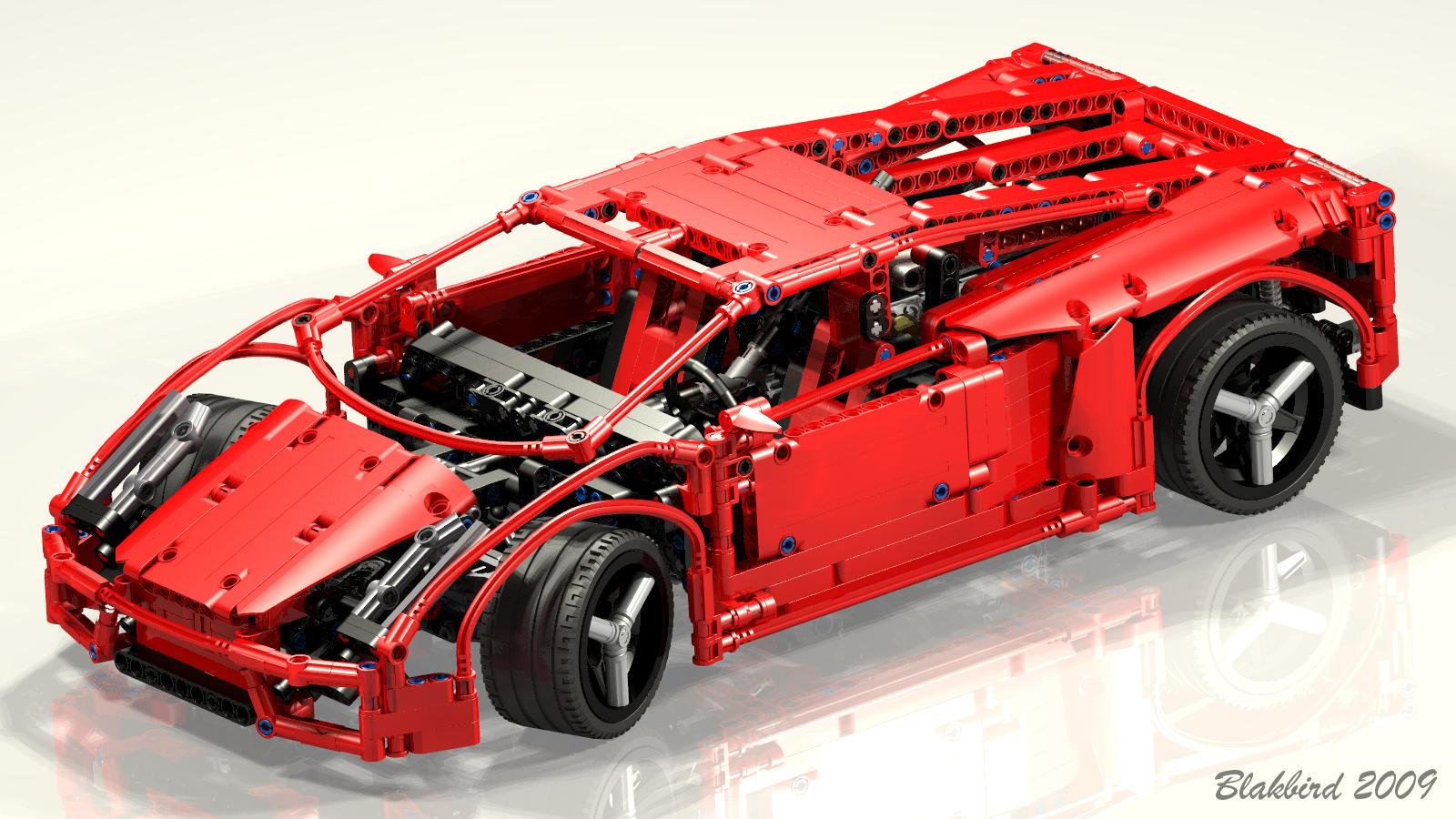 Lego gallardo kp560-4 polizia instructions 8214, racers.