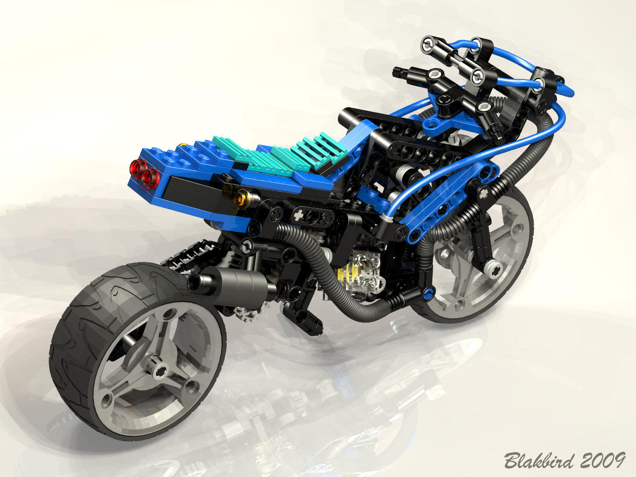 lego technic motorcycle instructions