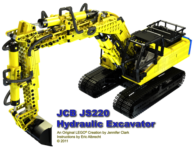 Instructions For My Excavator Lego Technic And Model Team