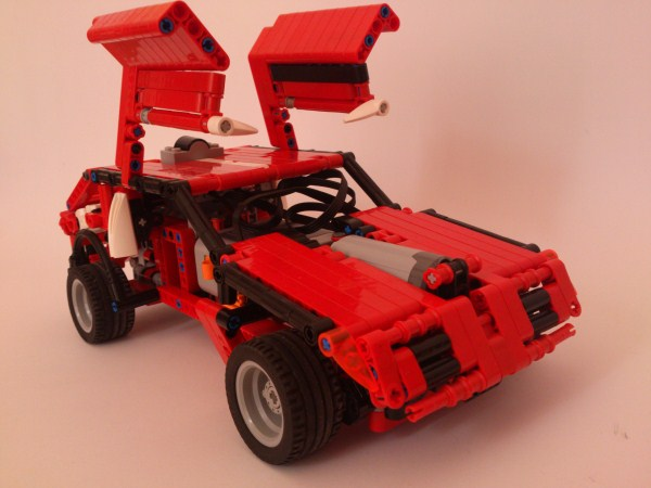 simple lego car instructions