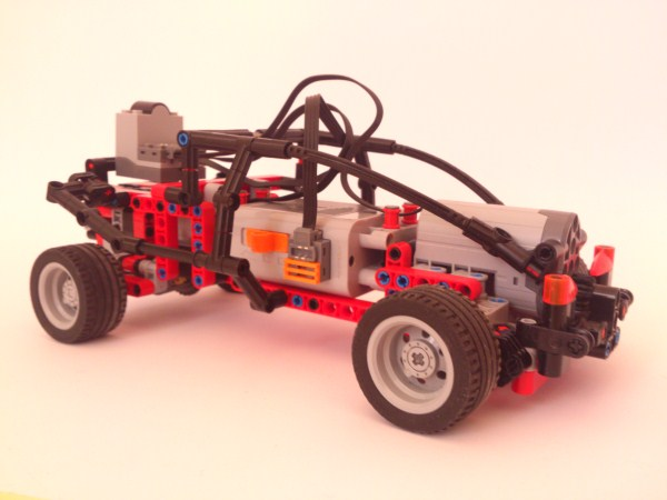 Simple Pf Car Instructions Lego Technic And Model Team