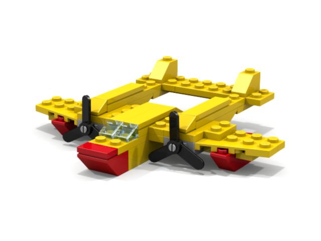 Как Построить Самолёт Из Лего Инструкция - фото 4