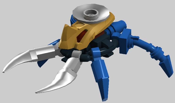 [MOC] Coup de Cœur : Rahi miniaturisés - taille minifigurine 0h2_kahgarak