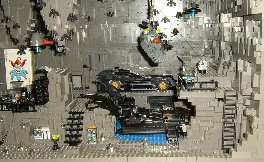 Custom Batcave Lego Licensed Eurobricks Forums