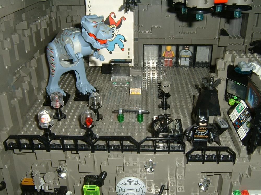 Lego Batman Batcave Computer Custom Licensed