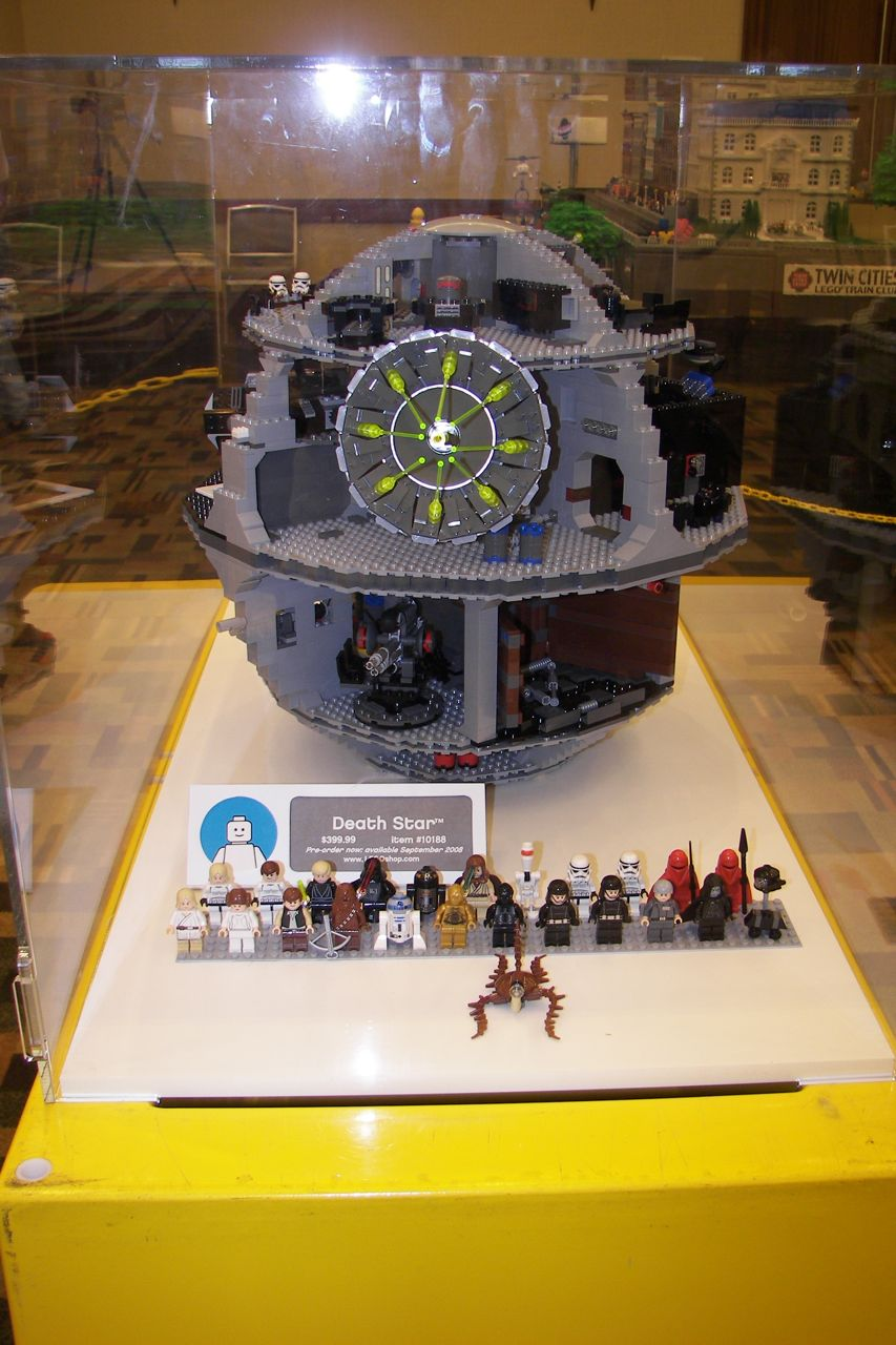 how to build a lego death star