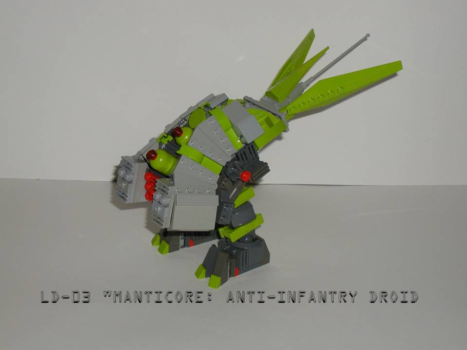 Manticore Mecha