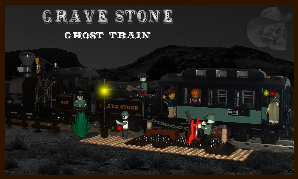 ghost_trainjpg - Lego Halloween Train