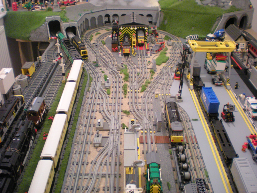 1000 Images About Lego Trains Ideas On Pinterest