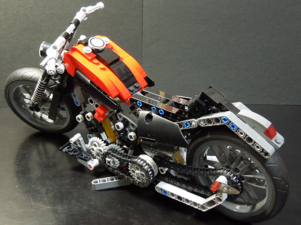 lego technic motorcycles harley davidson shovell softail by carle5o. Black Bedroom Furniture Sets. Home Design Ideas