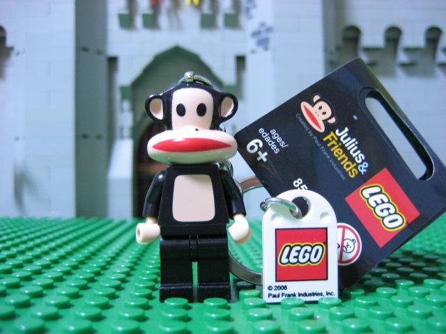 LEGO PAUL FRANK JULIUS & FRIENDS MINI FIGURE KEYCHAIN BAPE MILO KING