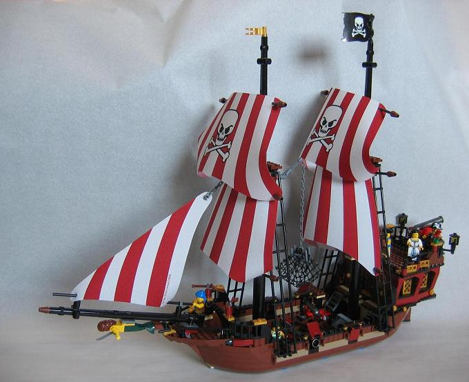 rezension zu 6243 gro es piratenschiff brickbeard 39 s bounty 2009 lego bei. Black Bedroom Furniture Sets. Home Design Ideas