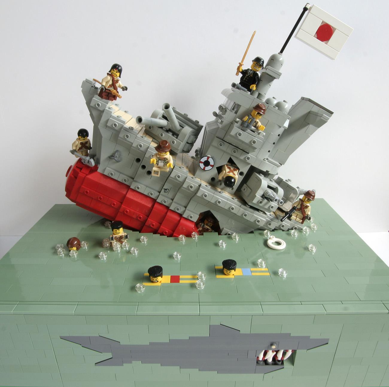 Lego Warship Sinking Www Pixshark Com Images Galleries