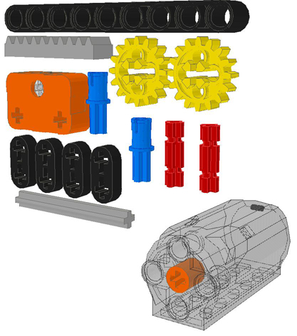 TechnicBRICKs: TBs TechTips 26 - Return-to-center steering