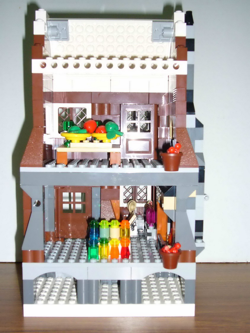 Candy Shop In The Shrieking Shack LEGO Licensed Eurobricks Forums   Lego  House Interior