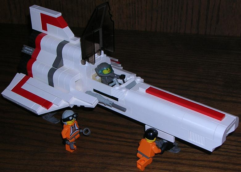 how to build a lego colonial viper