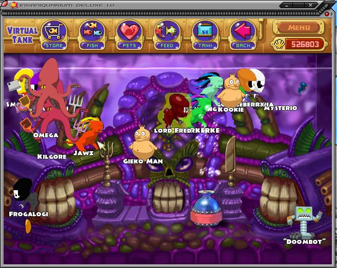 Insaniquarium deluxe for Feed and grow fish free no download