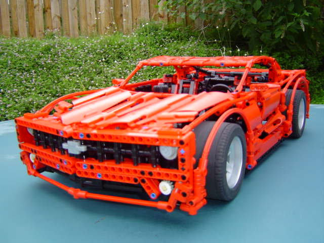 check out this lego technic 1967 mustang unreal page. Black Bedroom Furniture Sets. Home Design Ideas