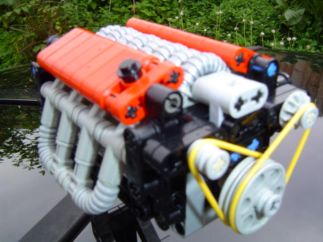 "4 Ways to Spruce Up Your ""Fake"" Technic Engines - LEGO ..."