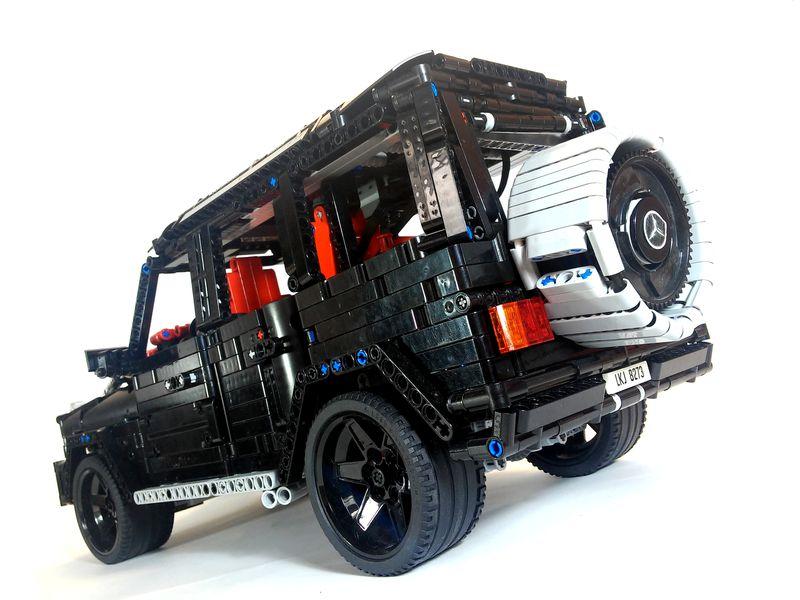 moc mercedes benz g63 amg lego technic mindstorms. Black Bedroom Furniture Sets. Home Design Ideas