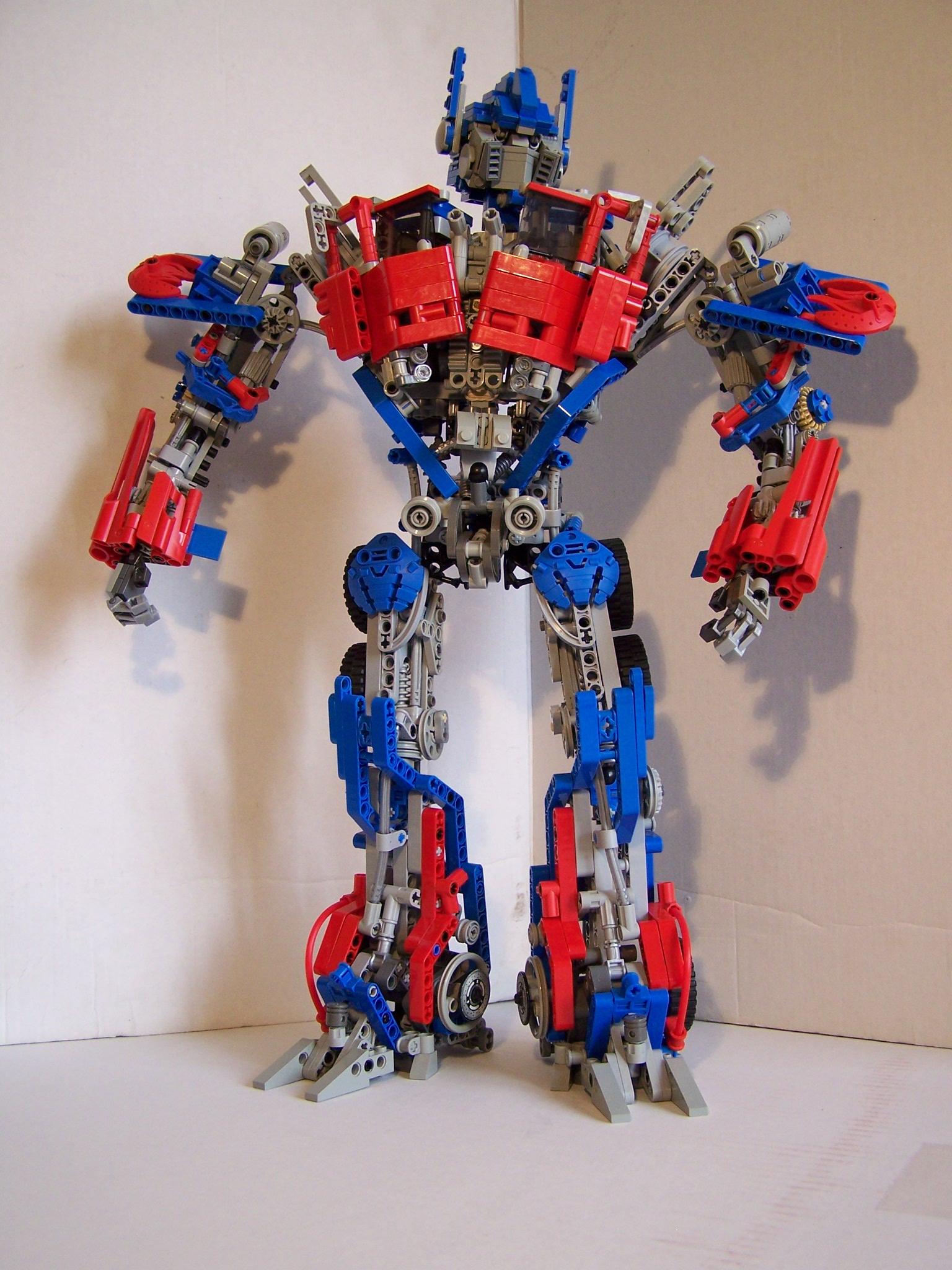 Гоночная машина - автобот » Робот из lego nxt 2.0 44