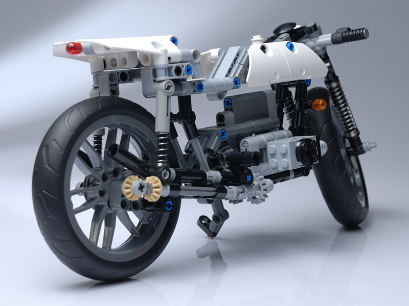 lego technic motorcycles custom bmw r100 by darsedz. Black Bedroom Furniture Sets. Home Design Ideas