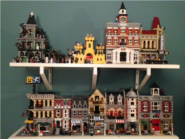 How do you display your modular building collection? - LEGO Town ...