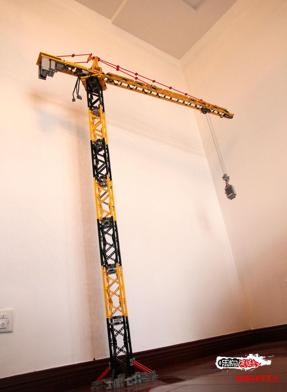 塔吊只有3组动作