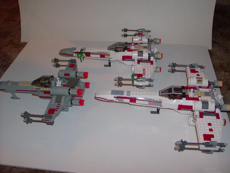 Review: Set 6212 X-wing Fighter - LEGO Star Wars - Eurobricks Forums